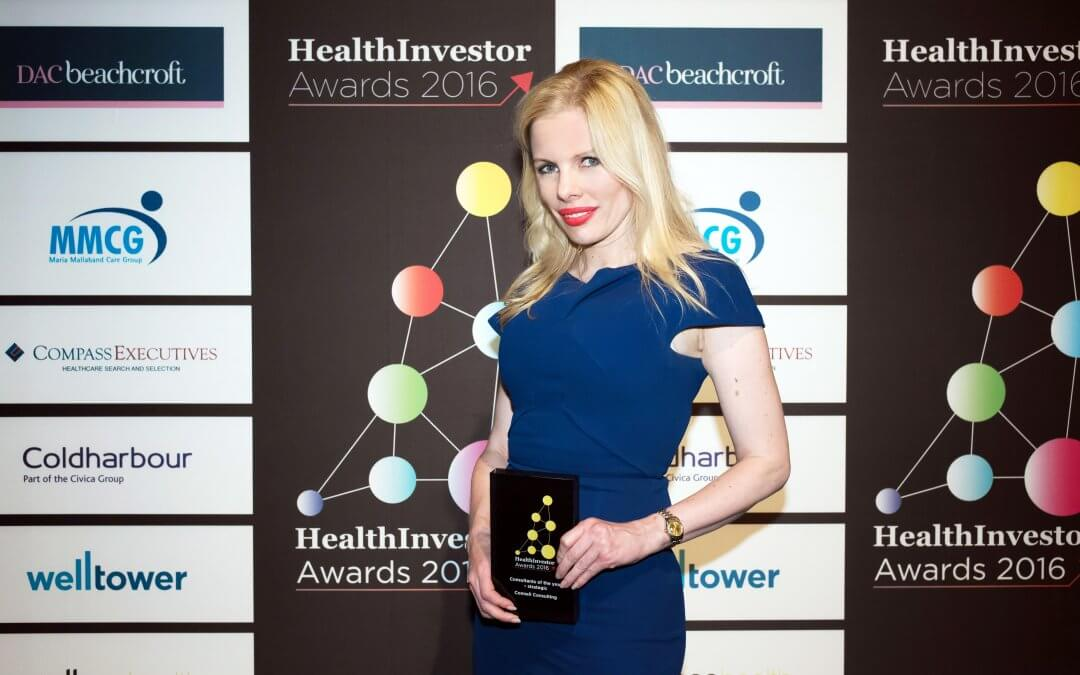 Winner of the 2016 HealthInvestor Awards.