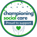 Championing Social Care. Proud to support