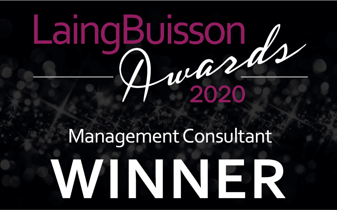 Connell Consulting are honoured to have won the LaingBuisson Award for Management Consultant in 2020 for the second year.